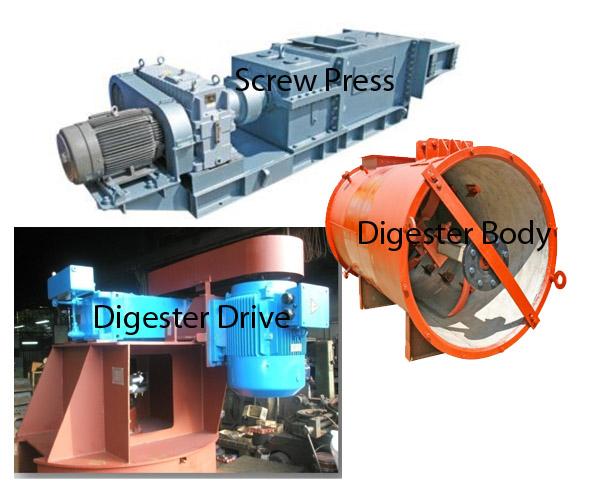 Wang Yuen - Screw Press and Digester - Jayatech - spare part pks